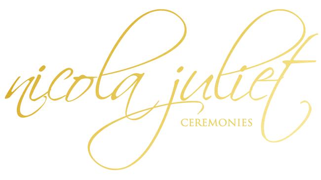 nicola juliet ceremonies logo