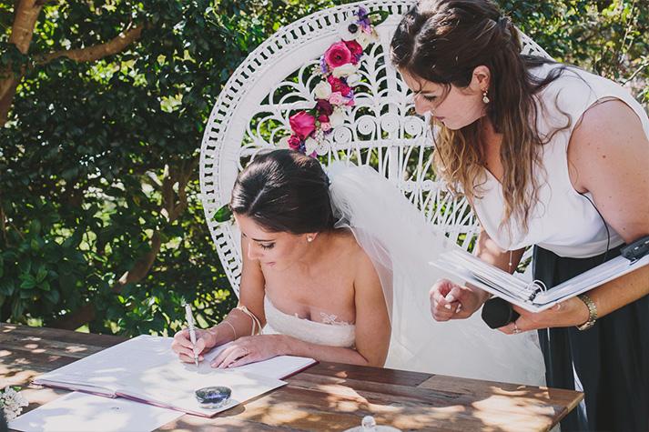 Andrew & Alanna Wedding - Nicola Juliet Ceremonies