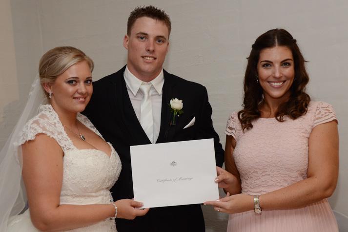 Bryson & Kayla Wedding - Nicola Juliet Ceremonies